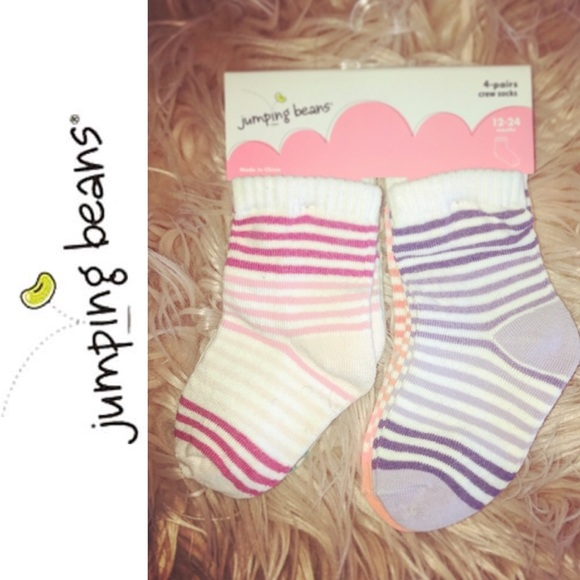 jumping beans Other - SOLD!   New Socks - 4 pack